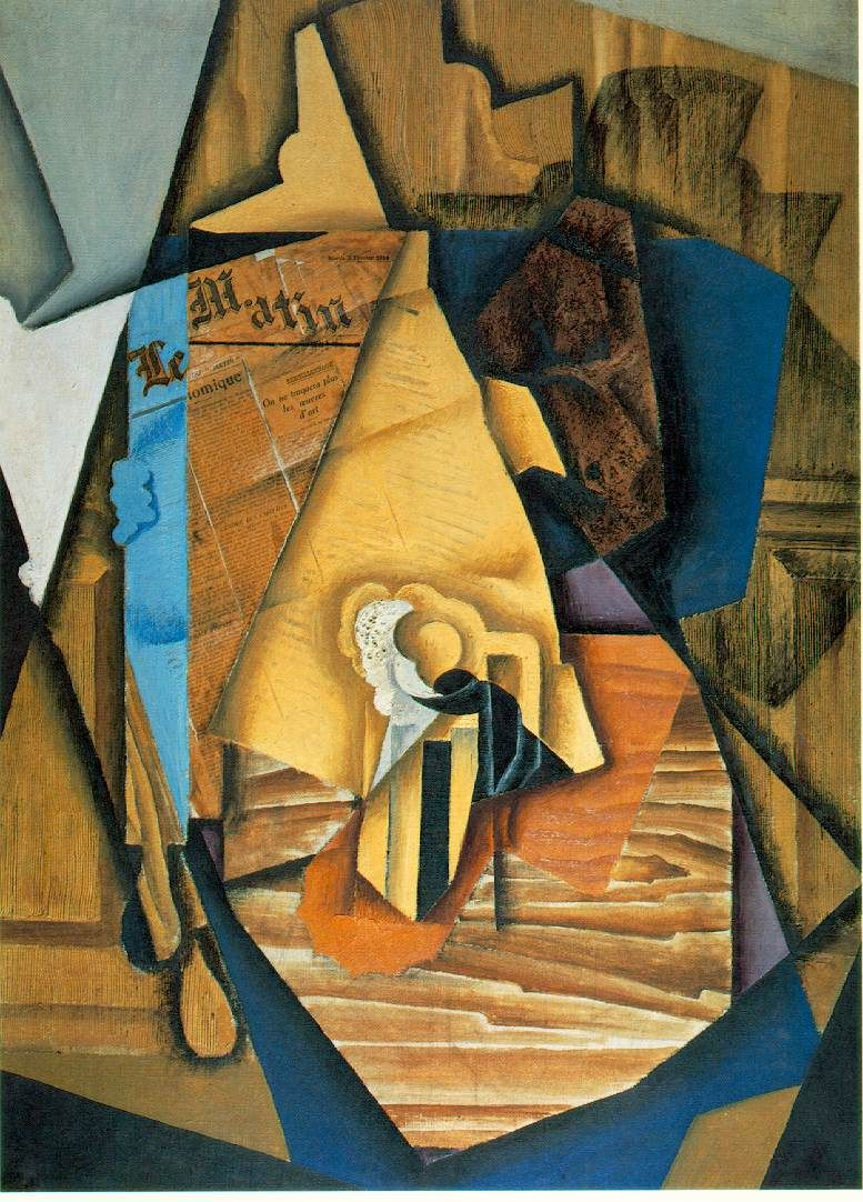cubism juan gris a man in a cafe abstraction you can see a  cubism juan gris a man in a cafe abstraction you can see a gentleman s
