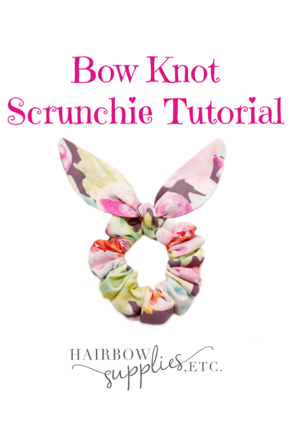 Bow Knot Scrunchies