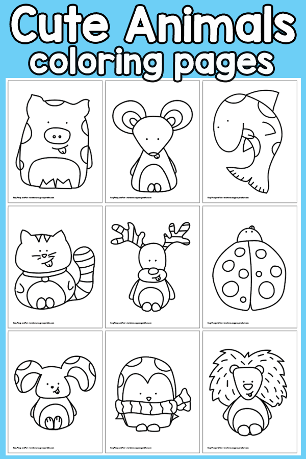 971ee46f03d7dc5f4a396d9bc2e8fd2e » Easy Animal Coloring Pages