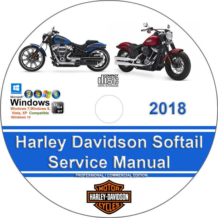 Advertisement Ebay Harley Davidson Softail 2018 Factory Workshop Service Repair Manual Softail Harley Davidson Harley Davidson Sport