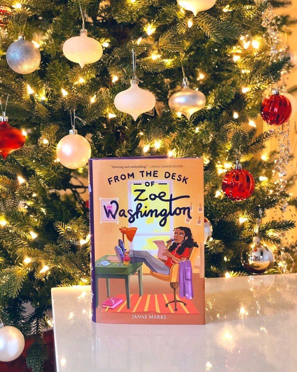From The Desk Of Zoe Washington In 2020 Books For Tweens Twelfth Birthday Christmas Celebrations