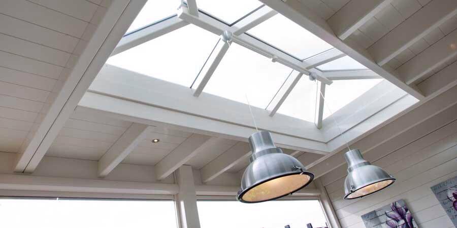 Oudhollands plafond met lichtstraat