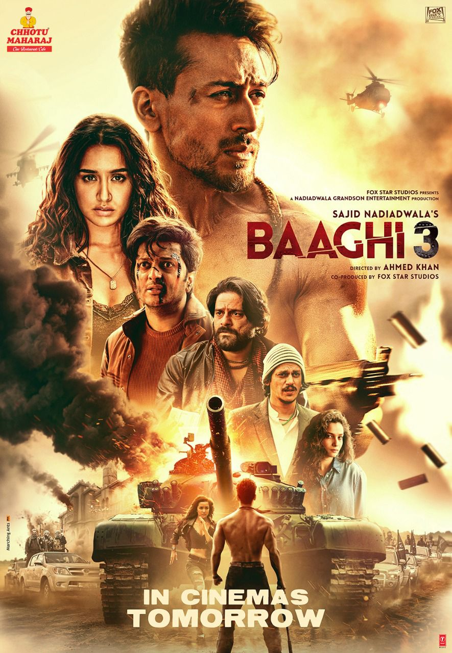 When It Comes To Saving His Brother Ronnie Is Unstoppable Baaghi3 In Cinemas Tomorrow In 2020 Hindi Movie Film Latest Hindi Movies Hindi Bollywood Movies