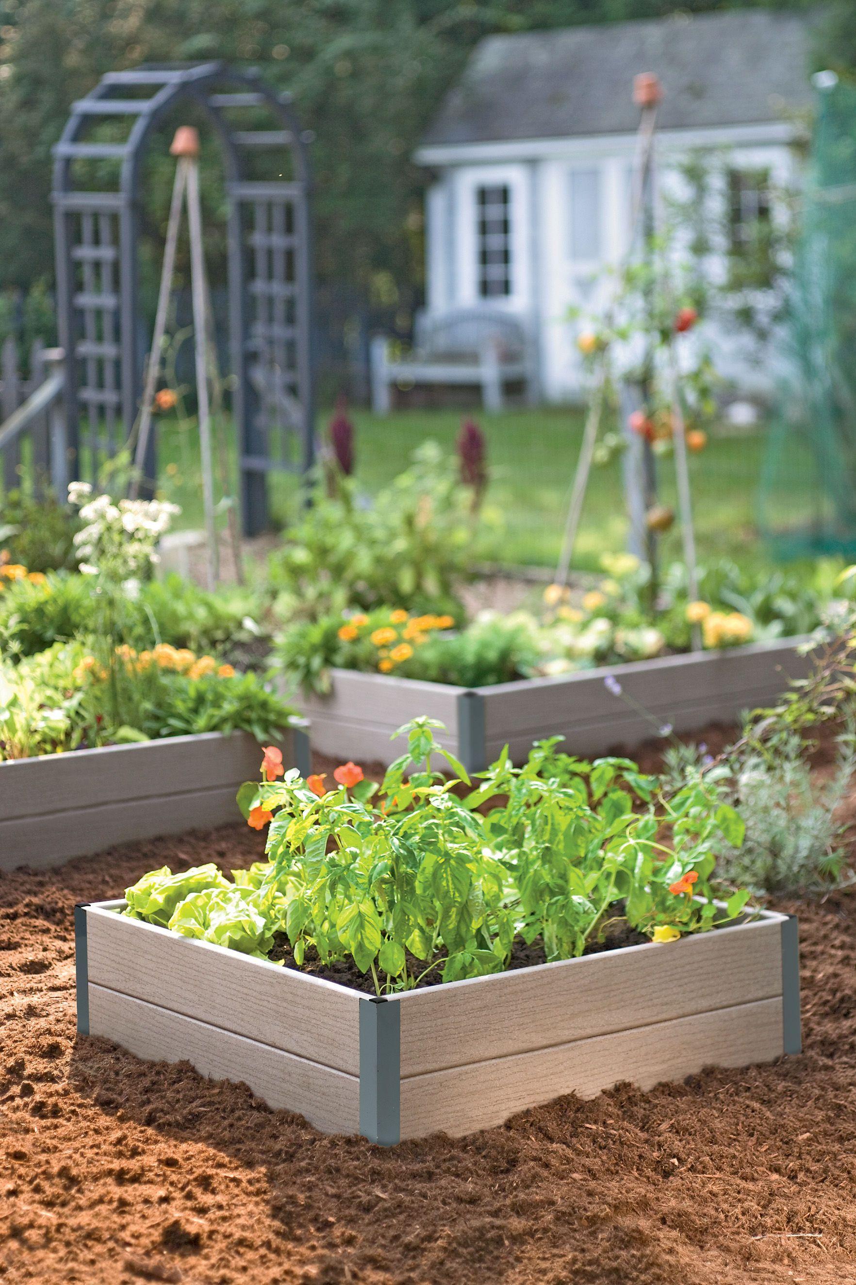 Stackable Corner Joints For Raised Beds Gardeners Com Backyard Vegetable Gardens Vegetable Garden Design Raised Garden