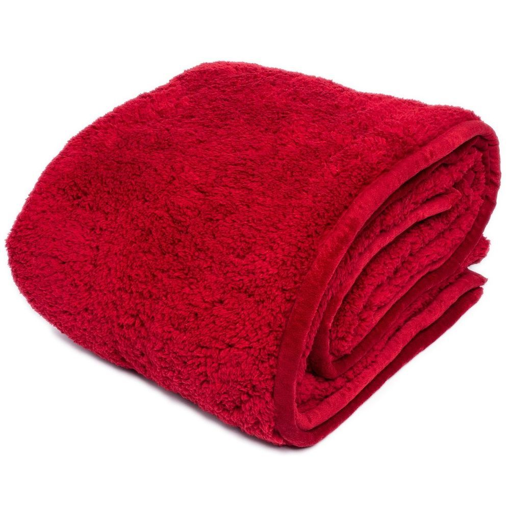 Warm Soft Accent Cozy Throw Sherpa Plush Blanket Red Wine Vino Tinto 60 X72 Cozy Throws Plush Blanket Blankets Throws