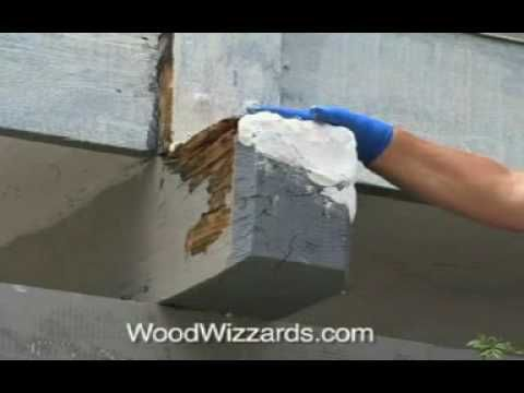 Termite Damage And Dry Rot Repair Wood Wizzards Youtube Termite Damage Wood Repair Termites