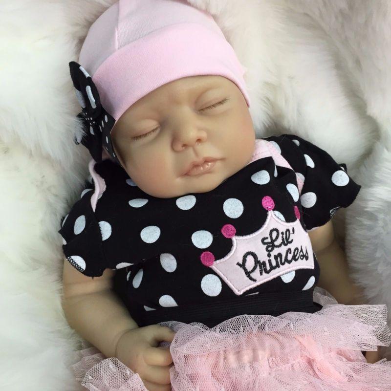 Reborn Dolls Cheap Baby Girl Realistic 22 Quot Newborn Real