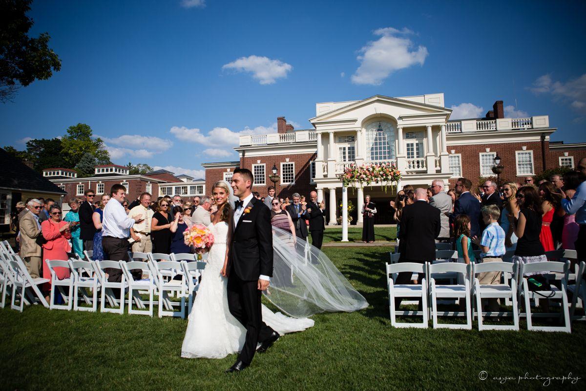 Ceremony At The Philadelphia Cricket Club Wedding Design Board Cricket Club Wedding