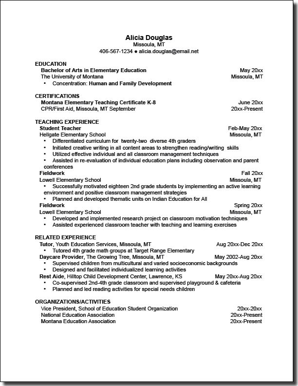 view resumes best resume sample letter for teacher application and