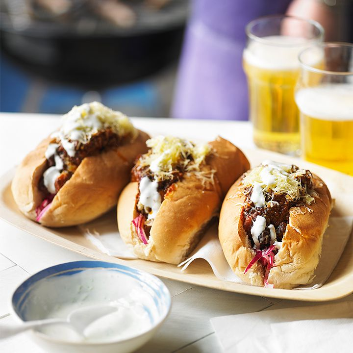 Heston's Chilli Hot Dogs: Http://www.waitrose.com/content