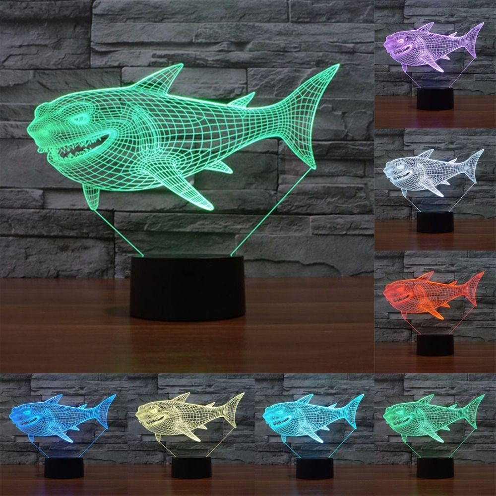 Usb Powered 3d Led Lamp 7 Colors Amazing Optical Illusion Night Lights 3d Visualization For Home Decor Birthday Holiday Gift Night Light 3d Led Lamp Lamp