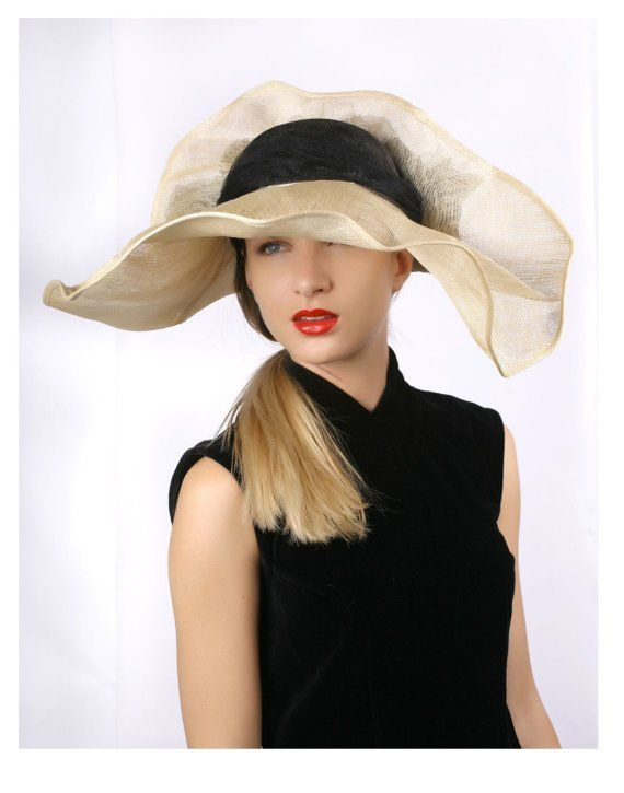 1187a7f392590 Ivory with black hat