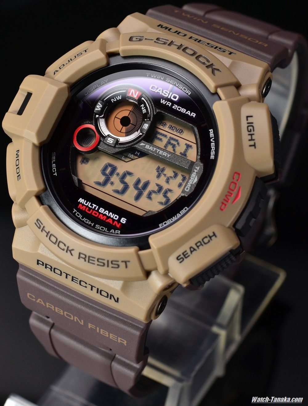 G Shock Men In Military Colors Mudman Gw 9300er 5jf Watches Casio Gshock Original Gd 100ms 3er Limited Colorway