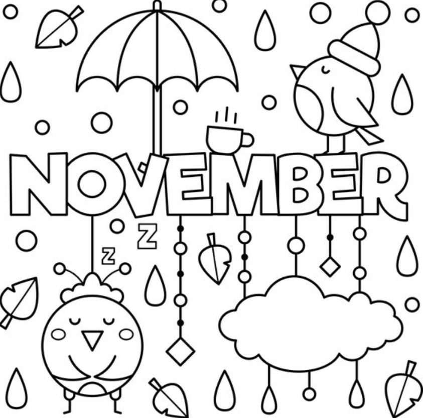 Month Coloring Free Coloring Pages Coloring Pages New Year Coloring Pages