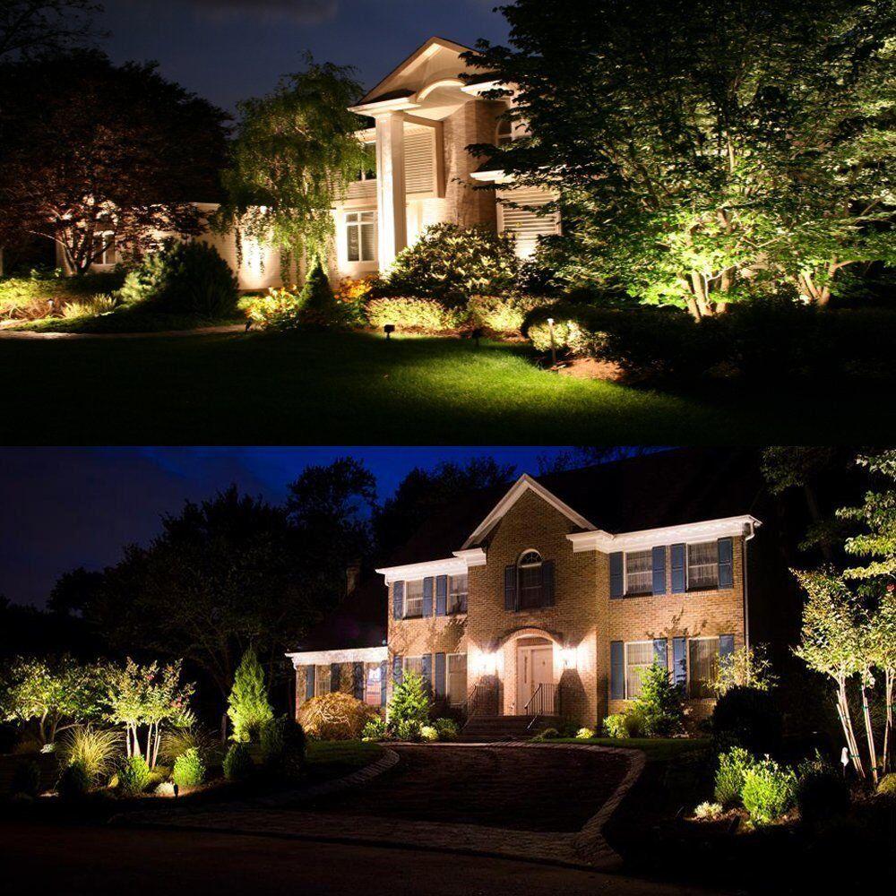 Zuckeo 5w Led Landscape Spotlight 12v 24v Low Voltage Garden Light Cob Outdoor Decorative Lig Garden Path Lighting Landscape Spotlights Landscape Lighting Kits