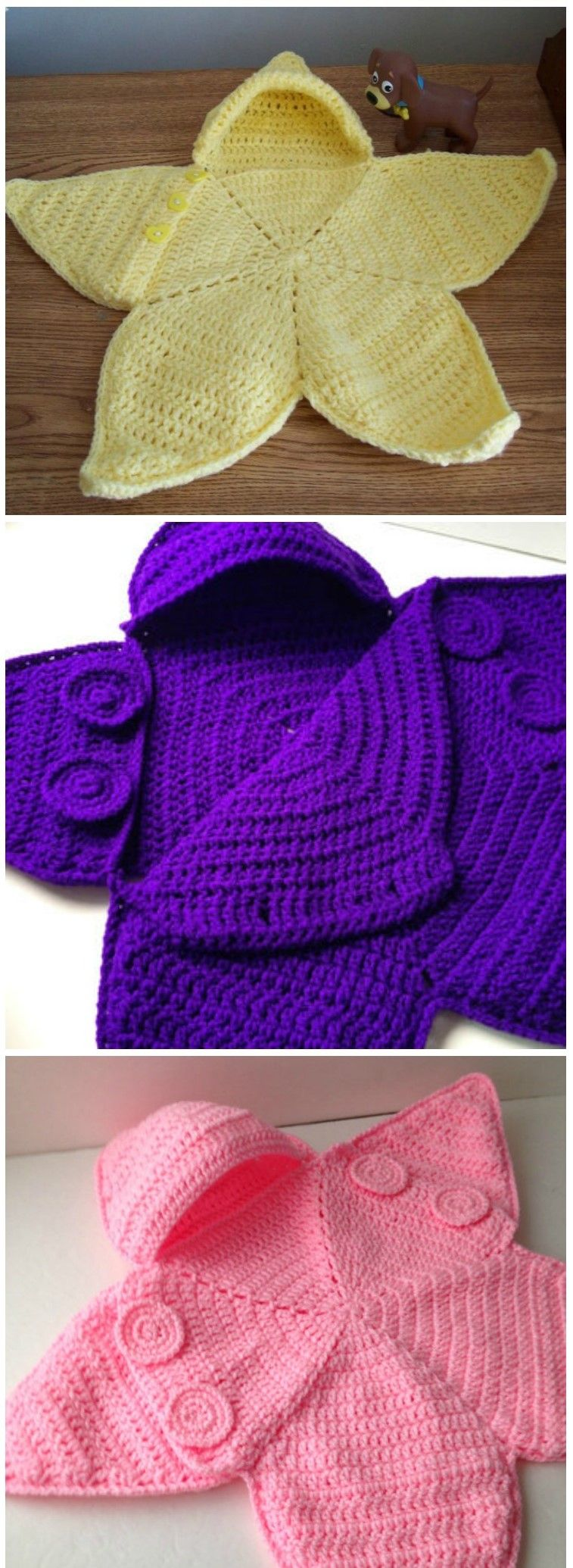 Crochet Baby Bunting Twinkle Star Handmade Pinterest Häkeln