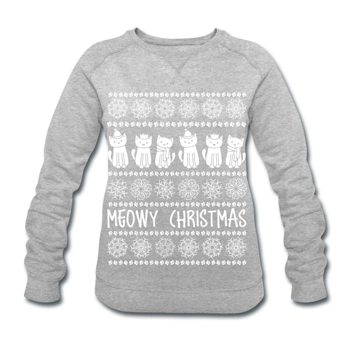 Forget about itchy Christmas jumpers, let's have Doodlecats' Christmas sweater instead – £25.90 @ Spreadshirt
