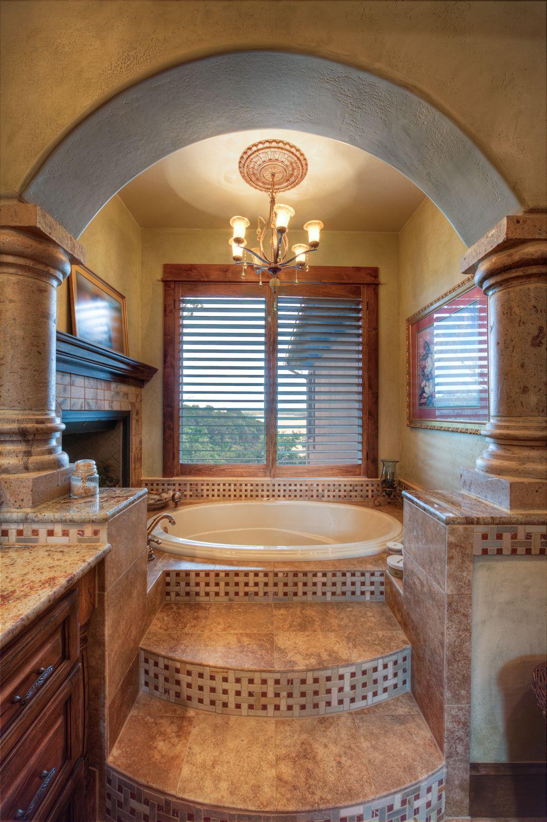 Mediterranean Bathroom Design Delectable Belvedere Custom  Design Visions  Bathrooms  Pinterest Review