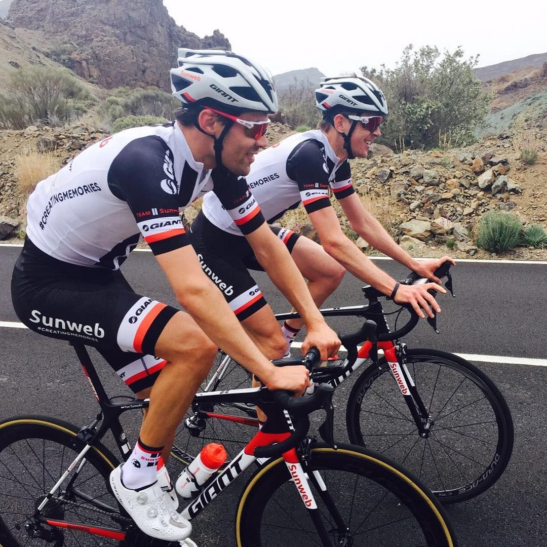 Tom Dumoulin Chad Haga Altitude Camp Team Sunweb Fiets