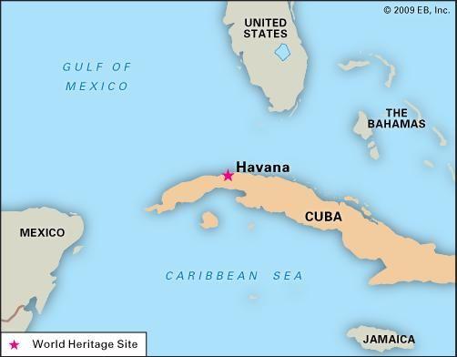 Map Of Location Havana Cuba Sofia Bulgaria Map Location Russia - Where is cuba