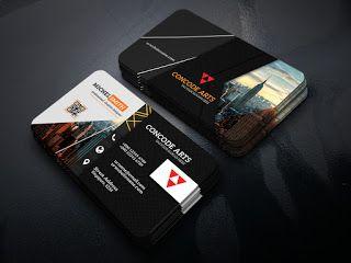 Black Colour Business Cards Vol 83 Professional Business Card Professional Business Cards Professional Business Cards Templates Business Card Maker