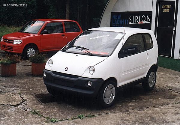 2000 Aixam France 400 Eco Micro Car 505cc Twin Cylinder Four