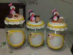 Resultado de imagem para potes de vidro decorados para o natal