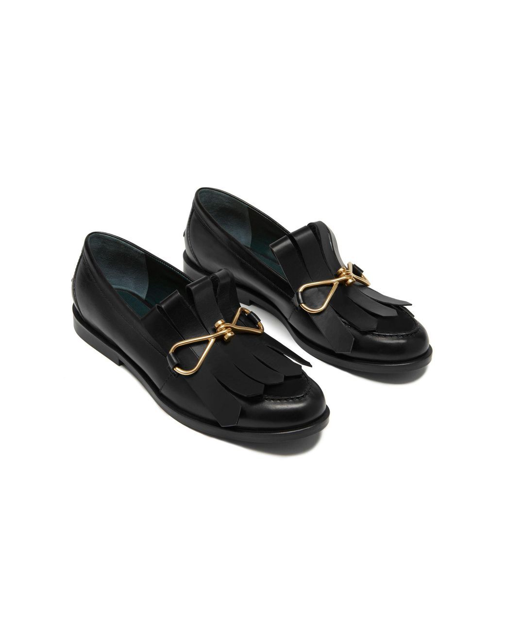 9f95f305cf3 Women s Black Charm Fringe Loafer