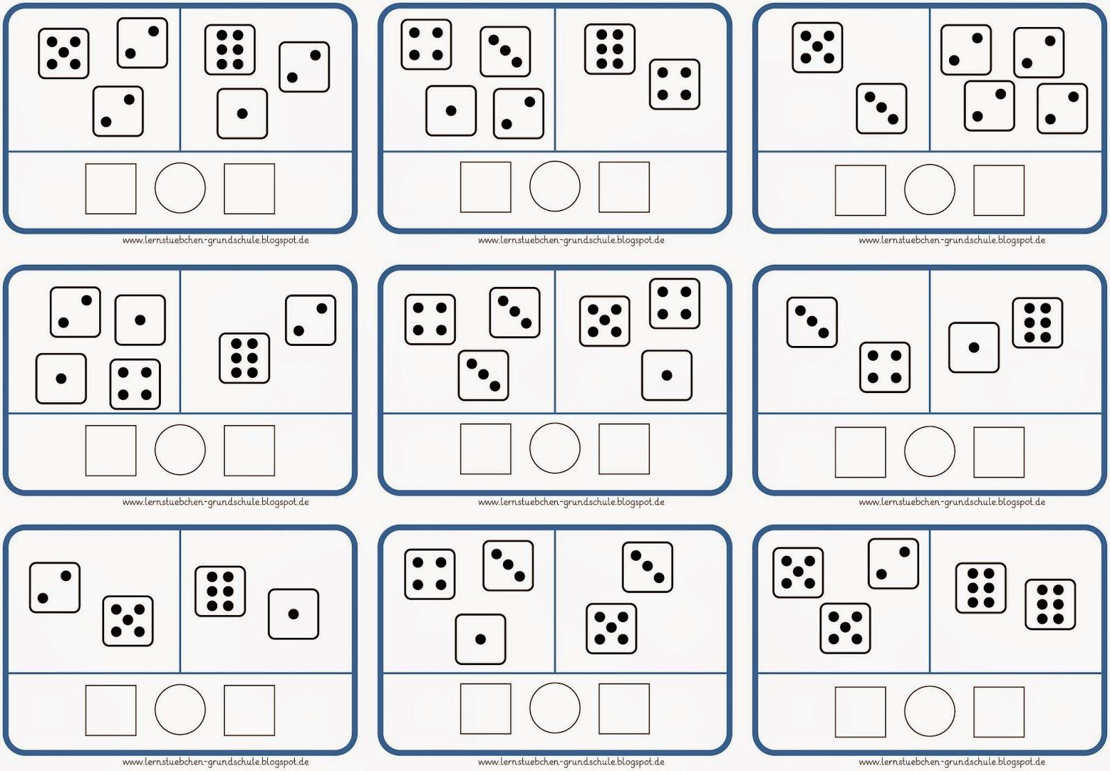 größer - kleiner - gleich (2) | matematika | Pinterest | Math, Math ...