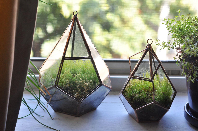 New Hanging Teardrop Glass Terrarium With Door Perfect For Moss Supplies Eco Friendly 60 00 Via