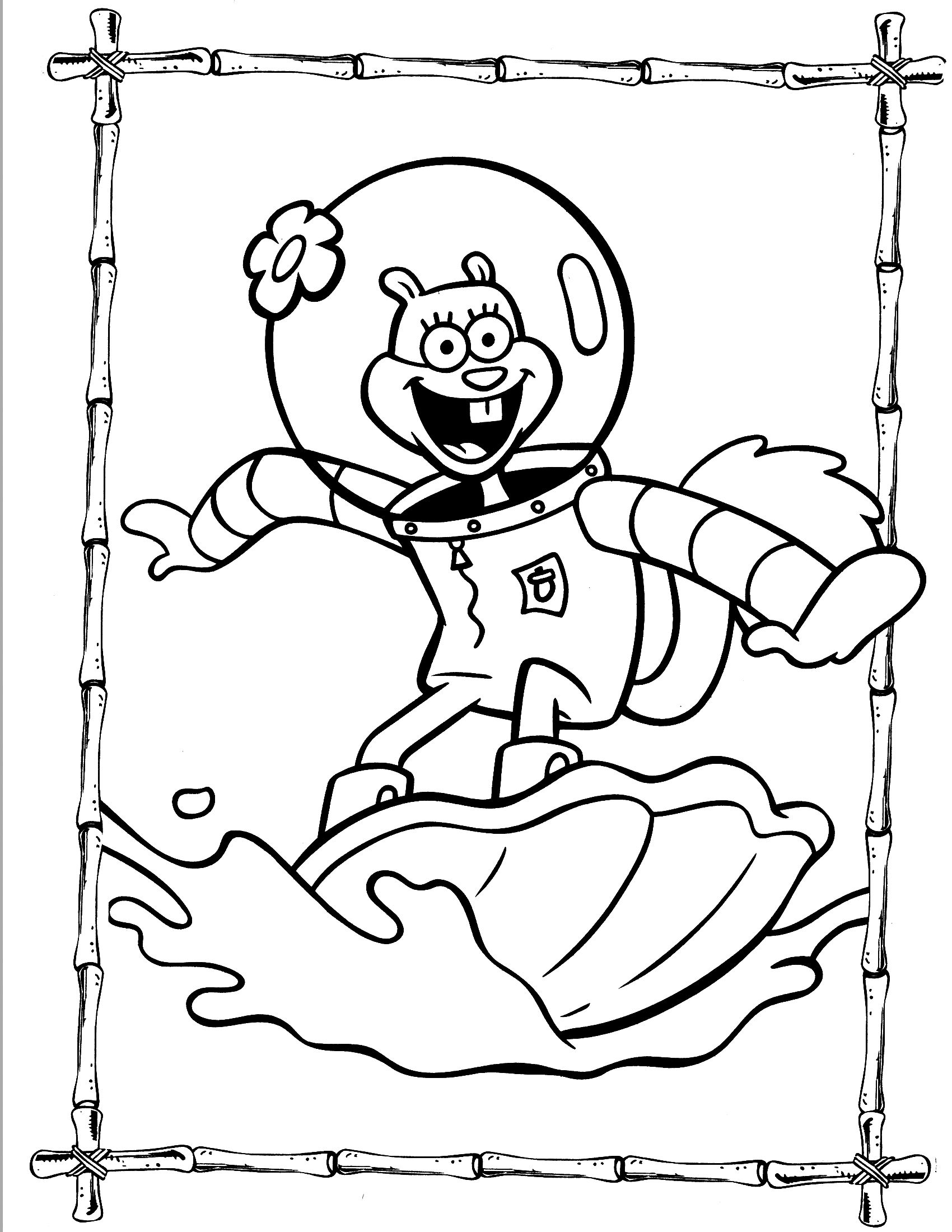 Thanksgiving Coloring Pages Free Spongebob Games