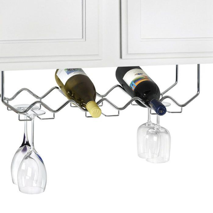 Morningside Drive 6 Bottle Hanging Wine Rack Condo Wine Cabinets