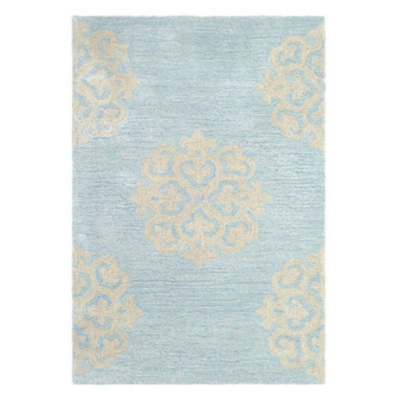 Safavieh Soho SOH724A Area Rug - Turquoise/Yellow - SOH724A-8SQ