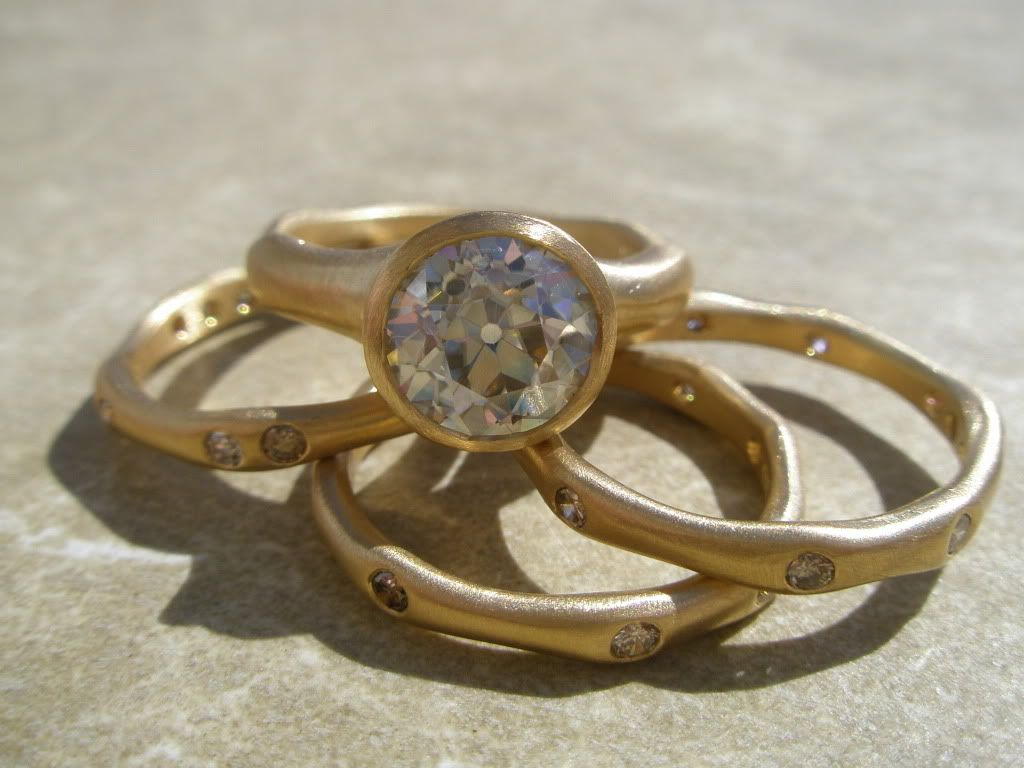 Fancy Artisan Wedding Bands Handmade Or Rings Post Your Pics