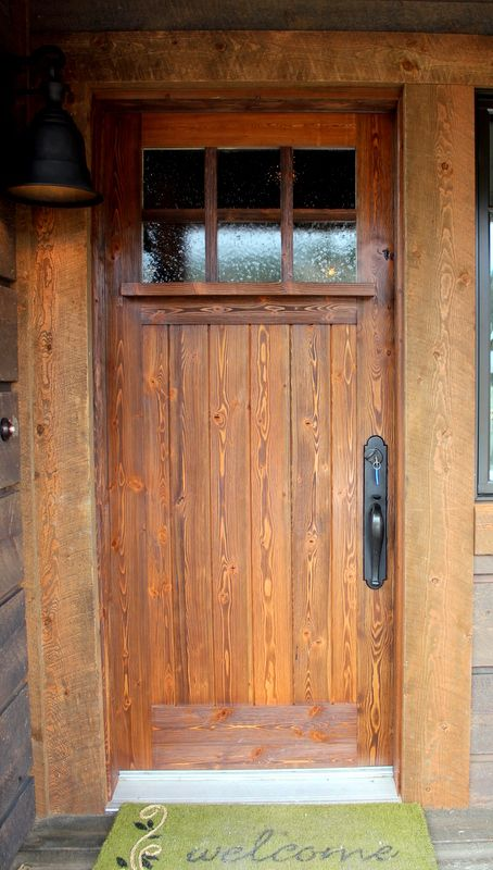 Image Result For Log Cabin Exterior Doors