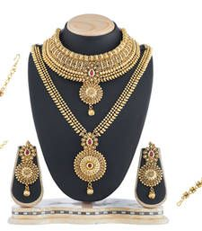 Traditional Wedding Bridal Set For Women Imitation Jewellery Online