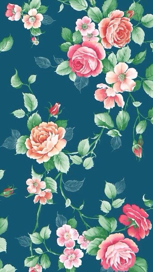 Plano de fundo flores | Fundo do iphone, Papel de parede do ipad