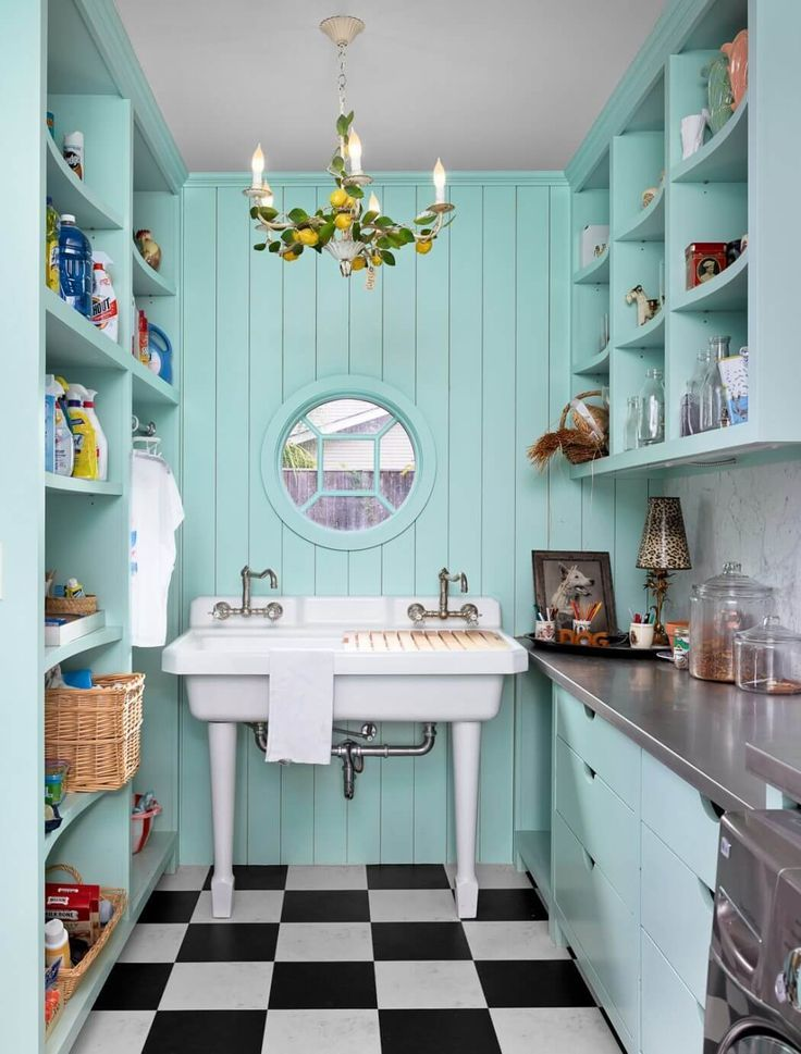 home renovation in texas unveils bold and playful on effectively laundry room decoration ideas easy ideas to inspire you id=73732