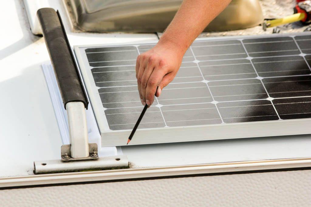 Solaranlage Auf Dem Wohnmobil Eine Montageanleitung
