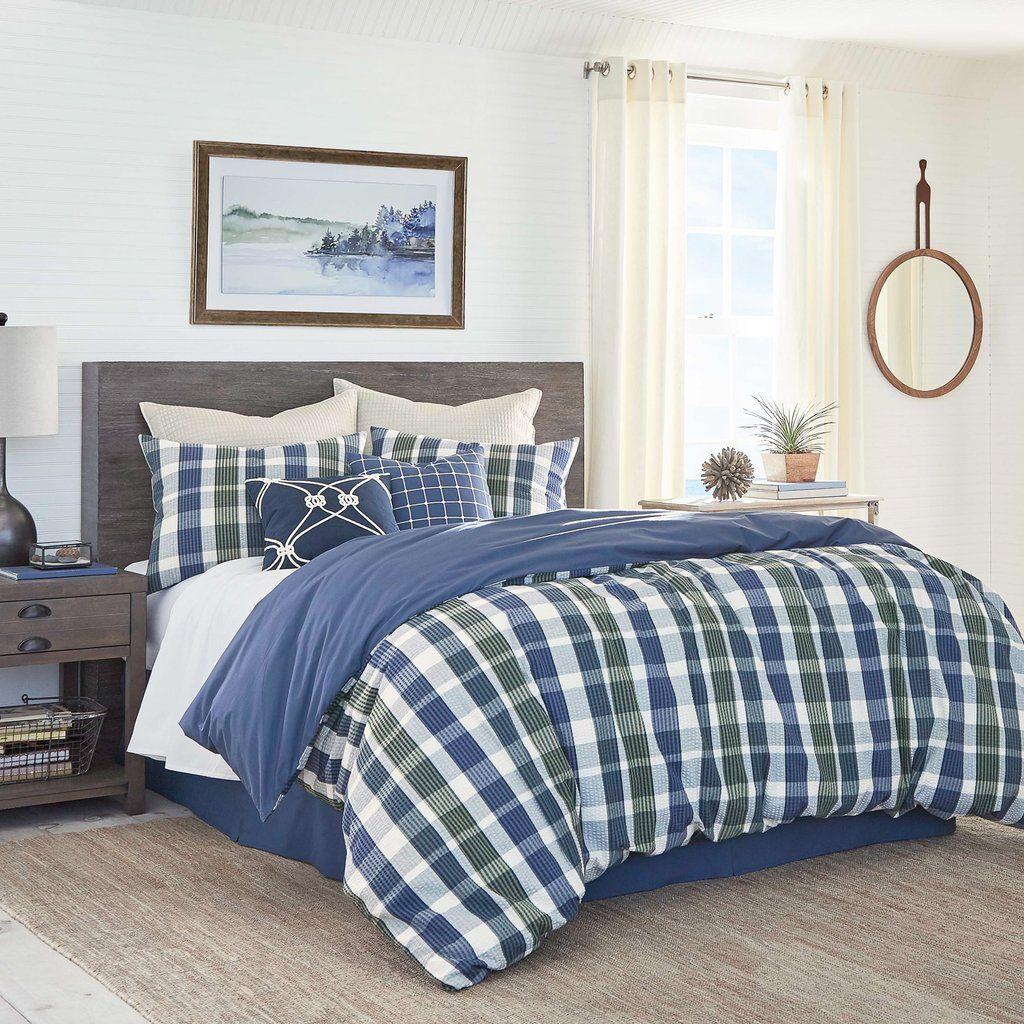 Royal Pine Reversible Comforter Set Comforter Plaidbed