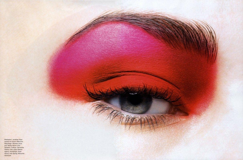 Beautiful work by London makeup artist Miranda Joyce featuring hot red make up looks!
