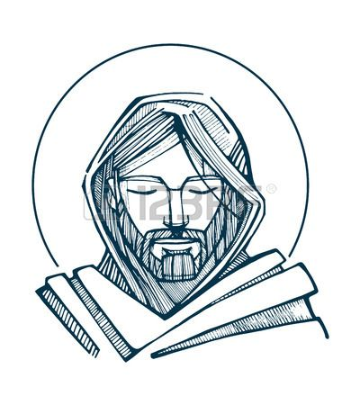 jesus cristo desenho rosto - Pesquisa Google