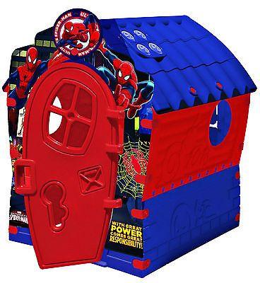 Children S Garden Spiderman House Summer Indoor Outdoor Plastic Kids Playhouse Tents Outdoor Toys Acti Toddler Playhouse Kids House Garden Spiderman Kids