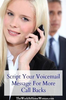 How To Script Your Voicemail Message For More Callbacks With Images Direct Sales Business Insurance Sales