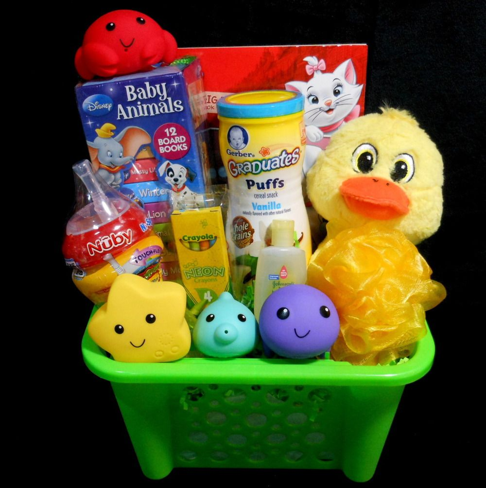 Christmas Gift Baskets For Kids.Boy Or Girl Unisex Toddler Any Occasion Gift Basket Great