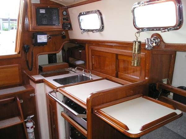 small sailboat interior design Recherche Google Pinteres