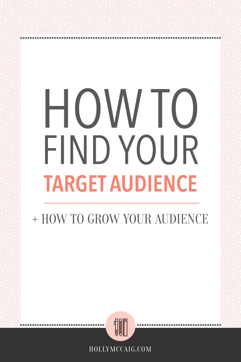 how to find your target audience | pinterest | target audience