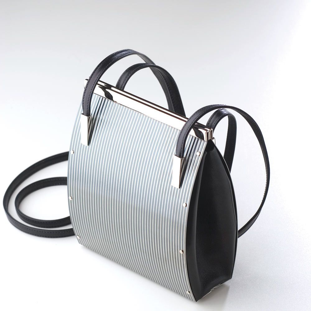 amazing stainless steel bags by Wendy Stevens Image of