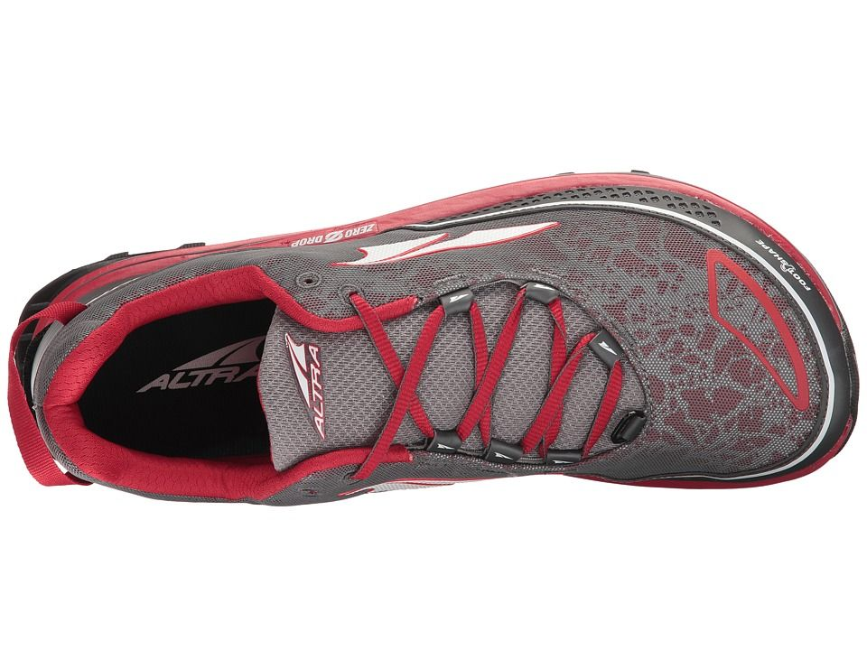 Altra Footwear Timp Trail Men's Running Shoes Red
