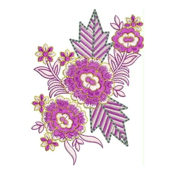 The embroidery designs gt new flower